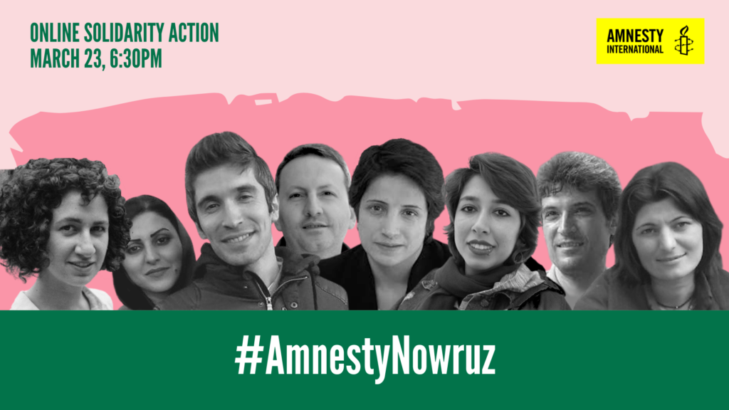 Nowruz solidarity action 2021